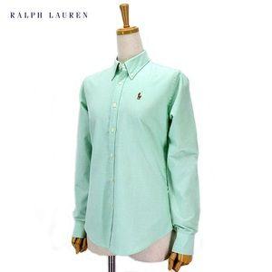 Green Ralph Lauren Oxford